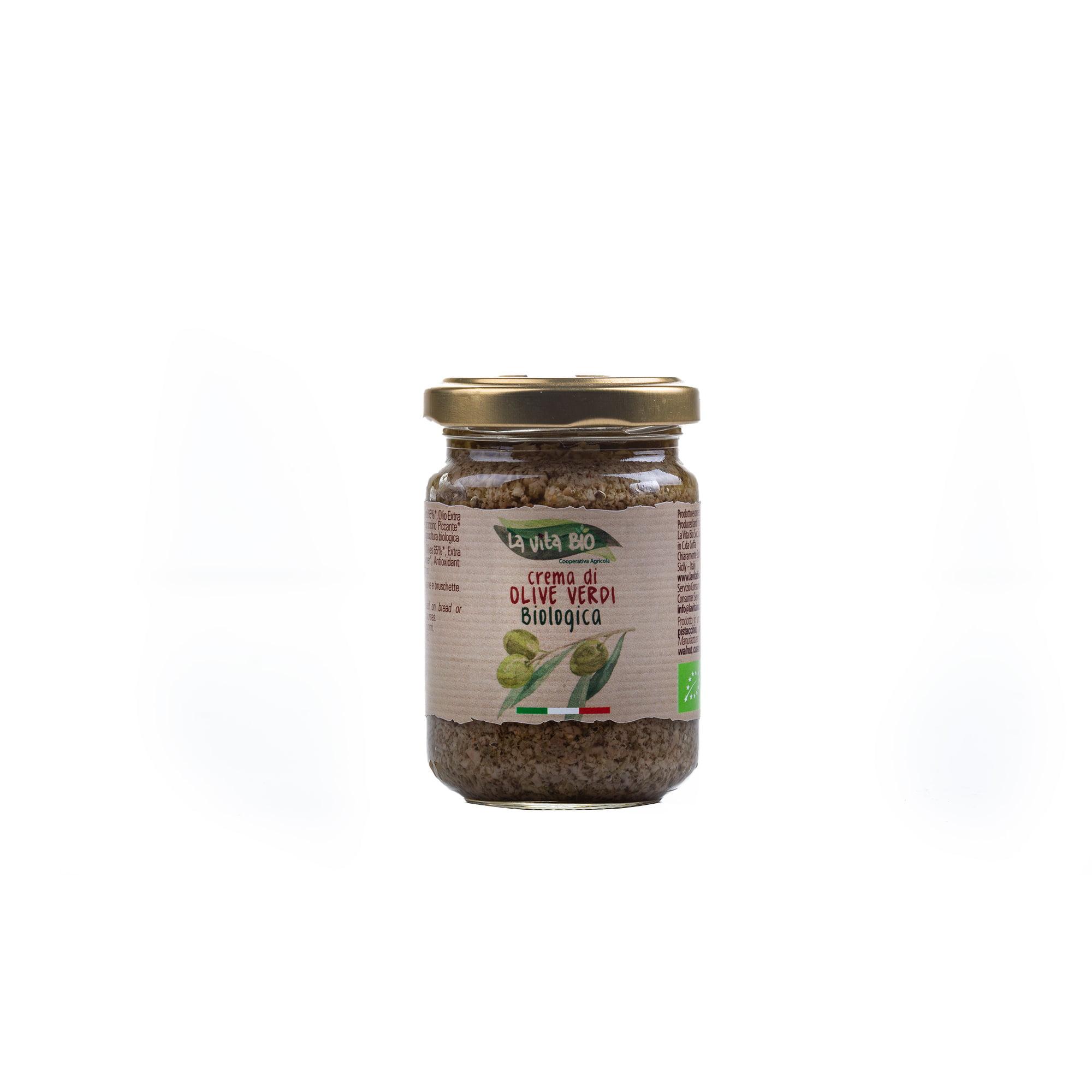 Biologisch crema olive verdi