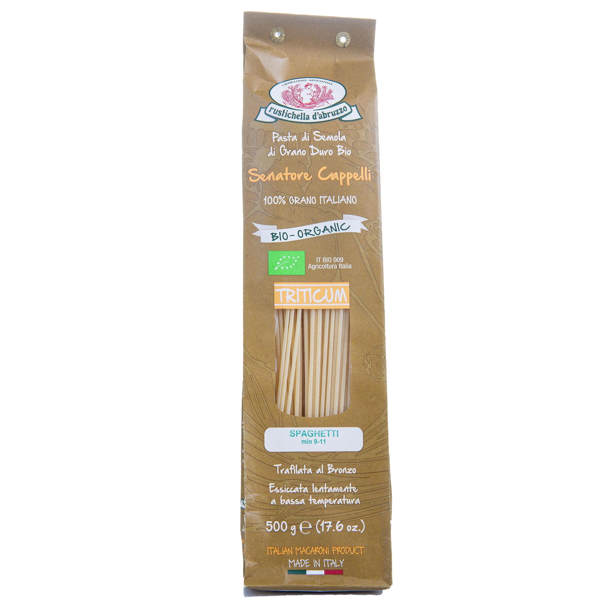 Rustichella d'Abruzzo biologische spaghetti Sen. Cappelli