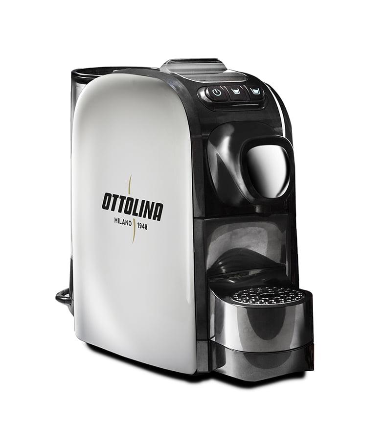 Nessie Koffiemachine Nespresso compatibel WHITE