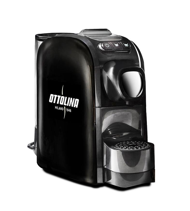 Nessie Koffiemachine Nespresso compatibel BLACK