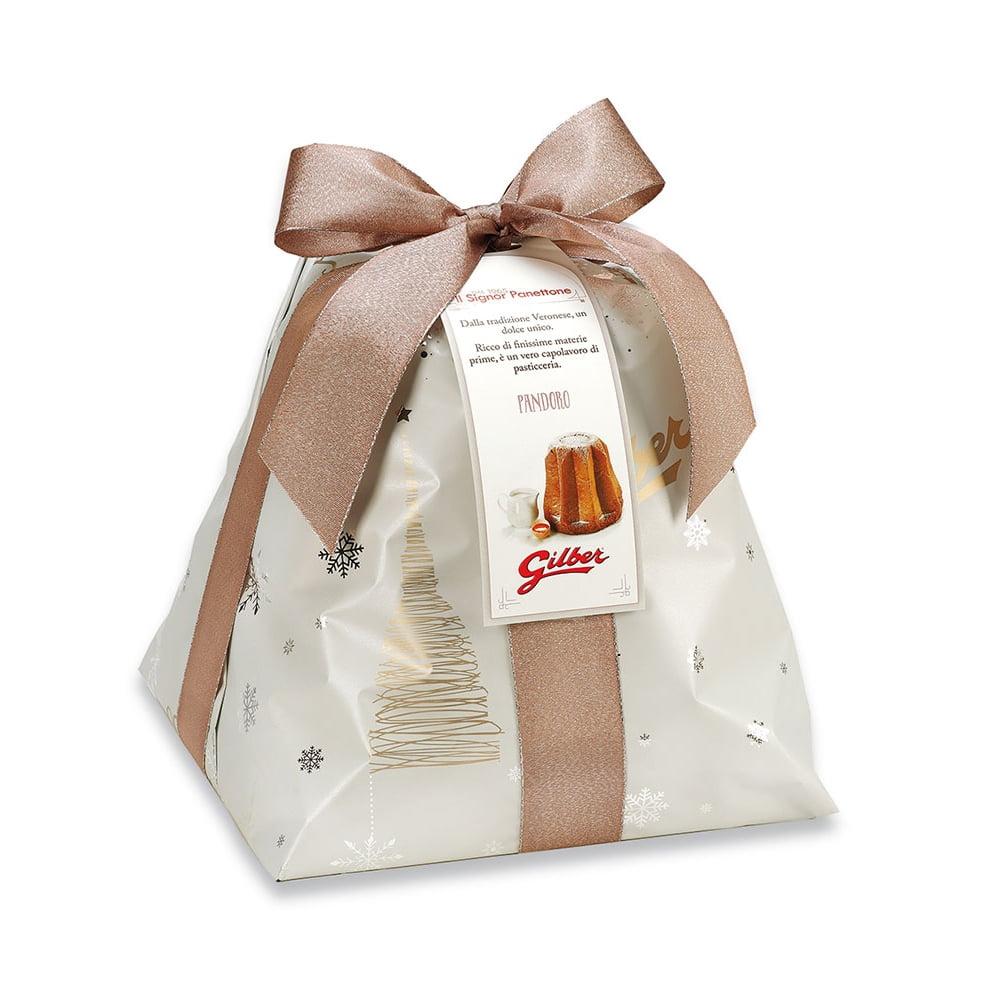 Pandoro Classico in luxe papierverpakking