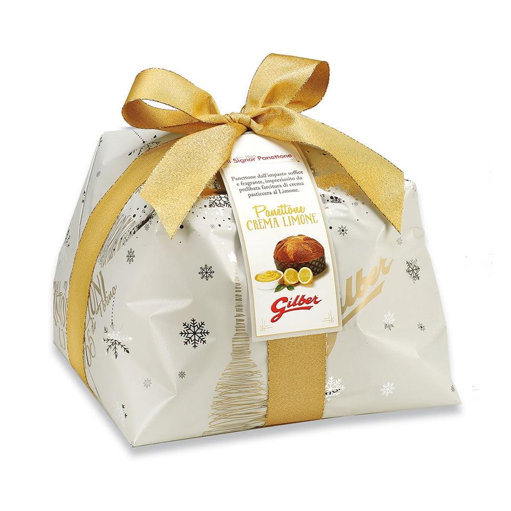 Panettone Crema Limone in luxe papierverpakking