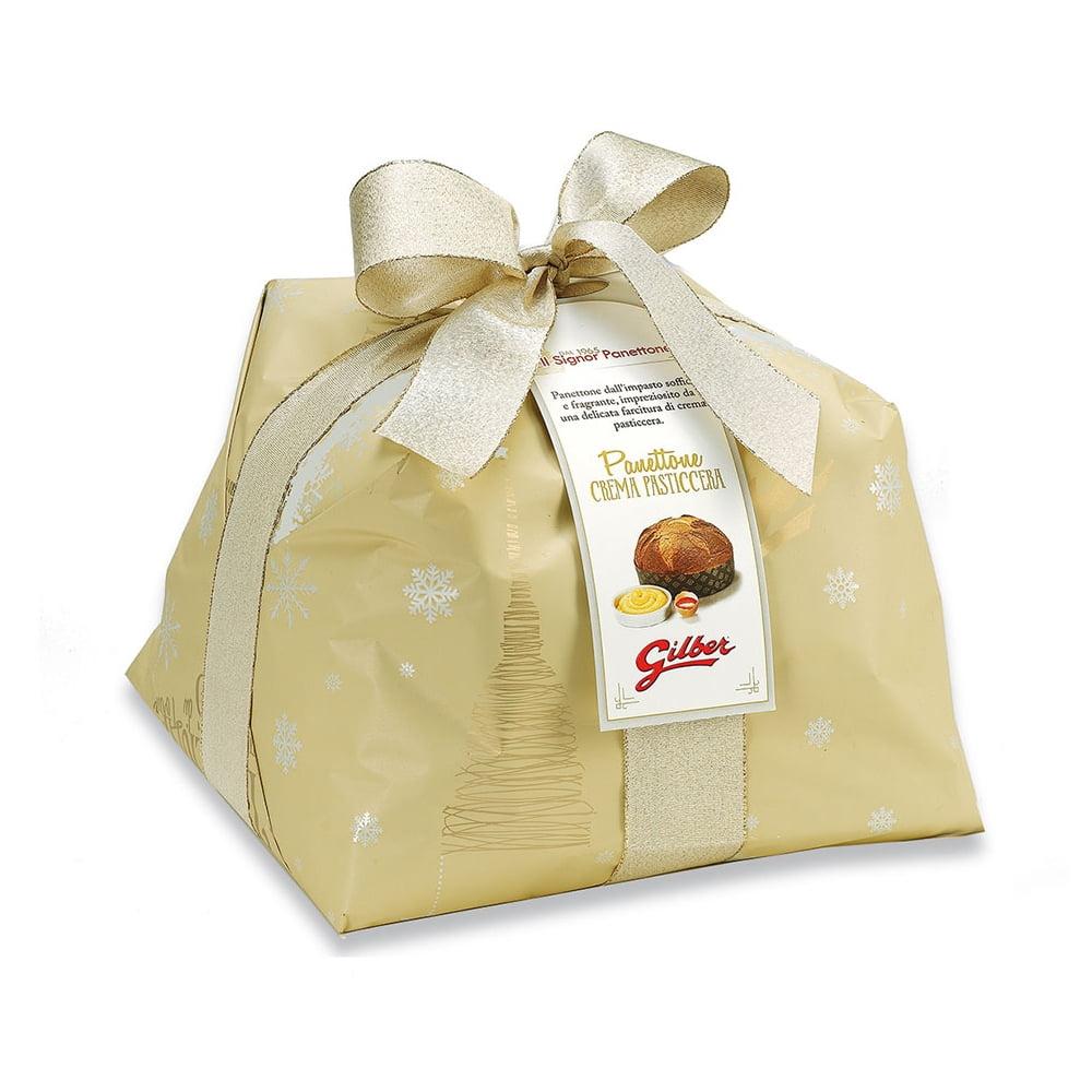 Panettone Crema Pasticcera in luxe papierverpakking