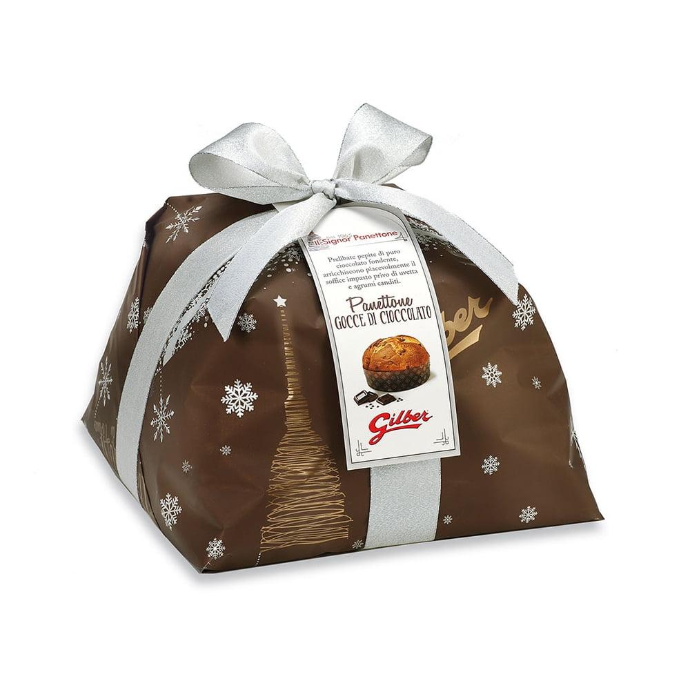 Panettone Gocce Cioccolato in luxe papierverpakking