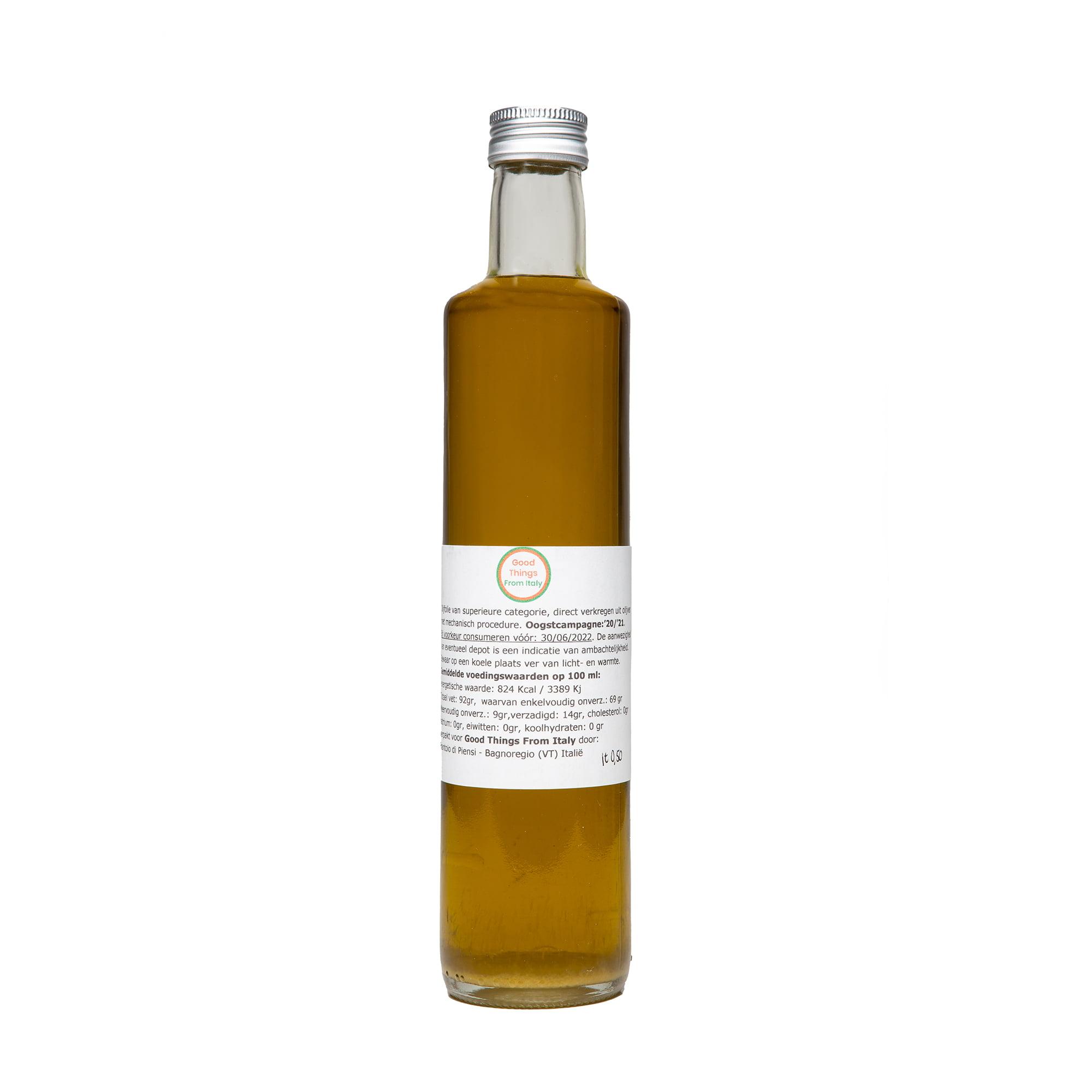 Olijfolie van Bagnoregio G.T.F.I. lt. 0,50