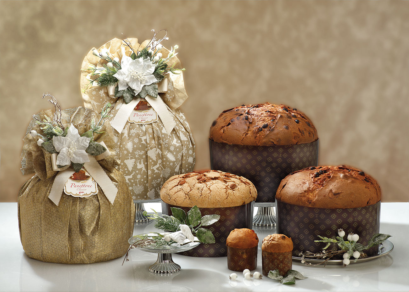 Panettone Classico Extra Groot (3 kg) in luxe papierverpakking