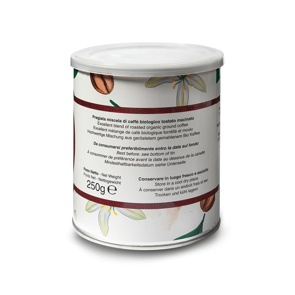 Caffè Ottolina Biologische Gemalen Koffie
